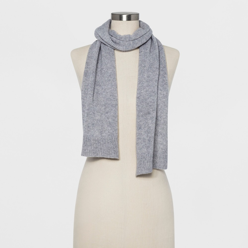 Women's Cashmere Scarf - A New Day Gray