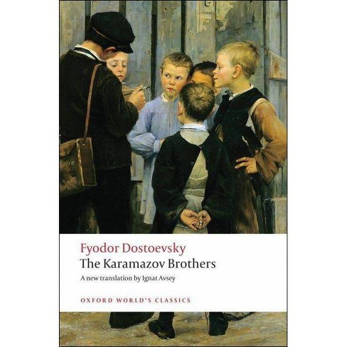The Karamazov Brothers - (Oxford World's Classics (Paperback)) by  Fyodor Dostoevsky (Paperback) - image 1 of 1