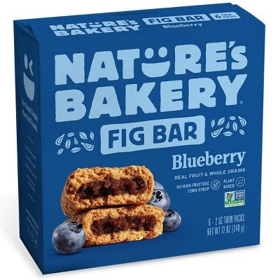 Nature's Bakery Blueberry Fig Bar - 6ct