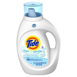 Tide Free & Gentle Unscented High Efficiency Liquid Laundry Detergent