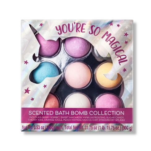 Unicorn Bath Bomb Giftset - 9ct - Target Beauty™ - image 1 of 1