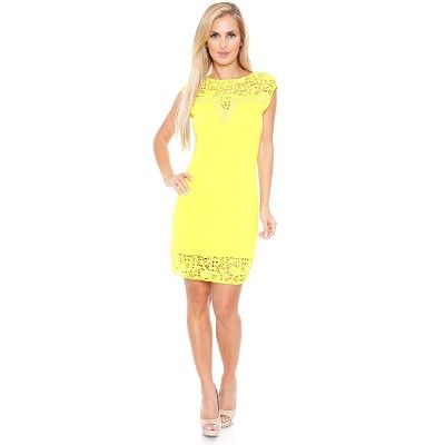 Women's Sleeveless Embellished Charlotte Dress - White Mark