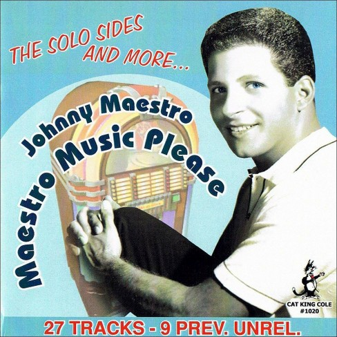 Johnny & th maestro - Maestro music please 27 cuts (CD) - image 1 of 1
