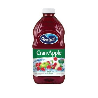 Ocean Spray Cran-Apple Juice - 64 fl oz Bottle