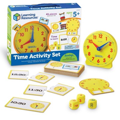 41pc Time Activity Set - Learning Resources