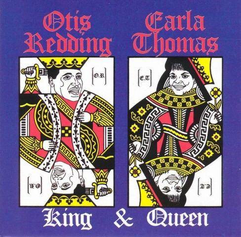 O redding & c thomas - Otis and carla-king and queen (CD) - image 1 of 4