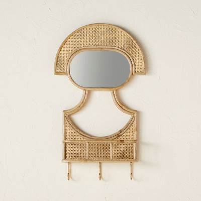Figure Mirror with Basket - Opalhouse™ designed with Jungalow™
