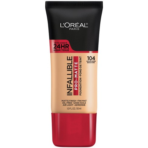 L'Oreal Paris Infallible Pro-Matte Foundation Normal/Oily Skin - 1 fl oz - image 1 of 4