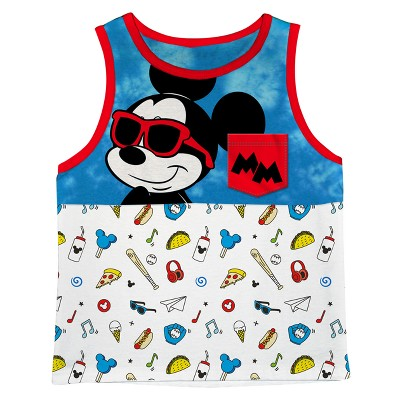 Disney® Toddler Boys' Mickey mouse Tank Top - Blue 12M