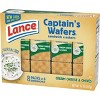 Lance Captain's Wafers Cream Cheese & Chives Cracker Sandwiches - 11oz / 8ct - image 3 of 4