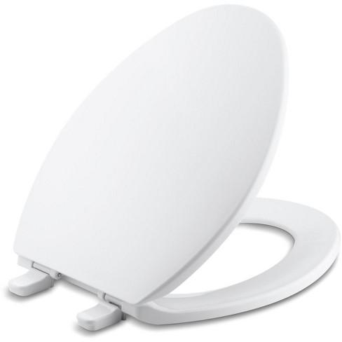 Amazing Kohler K 4774 Brevia Q2 Elongated Closed Front Toilet Seat Beatyapartments Chair Design Images Beatyapartmentscom