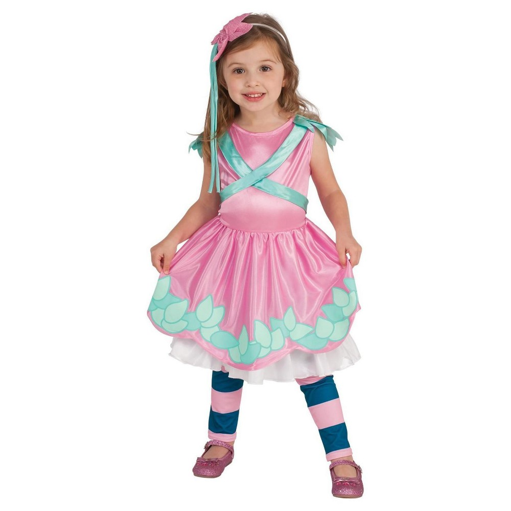 Image of Little Charmers Posie Toddler Costume 2T-4T, Toddler Girl's, Pink