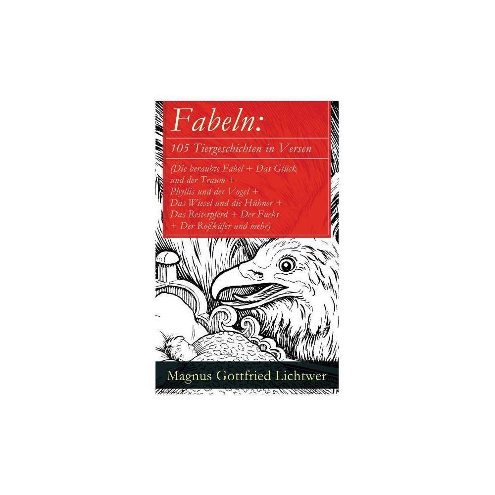 Fabeln By Magnus Gottfried Lichtwer Paperback