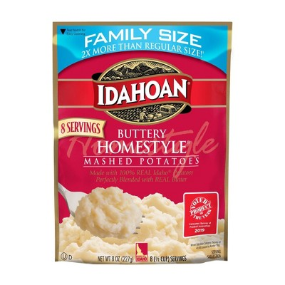 Idahoan Buttery Homestyle Mash Potatoes - 8oz
