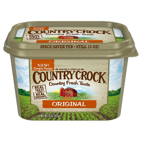 Country Crock Original Vegetable Oil Spread Tub - 15oz - image 1 of 1