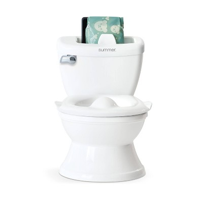 Summer Infant My Size Potty with Transition Ring and Storage - White