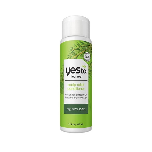 Yes to Naturals Tea Tree & Sage Oil Scalp Relief Conditioner - 12 fl oz - image 1 of 4