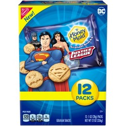 Honey Maid Justice League Graham Snacks - 12oz