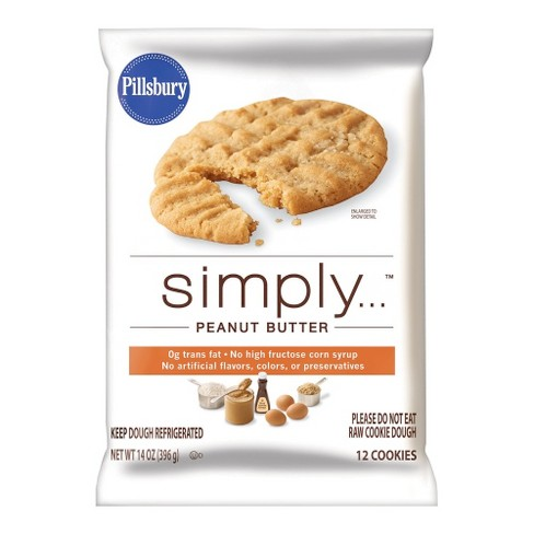 Pillsbury Simply Peanut Butter Cookie Dough 14 oz - image 1 of 1