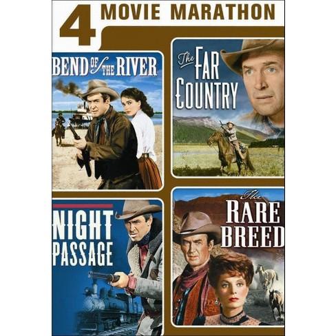 4 Movie Marathon: James Stewart Western Collection [2 Discs] - image 1 of 1