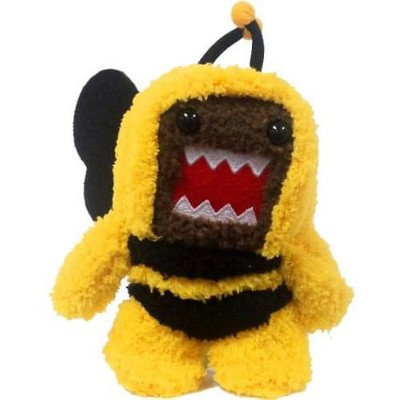 """License 2 Play Inc Domo Bumble Bee 4"""" Clip On Plush"""