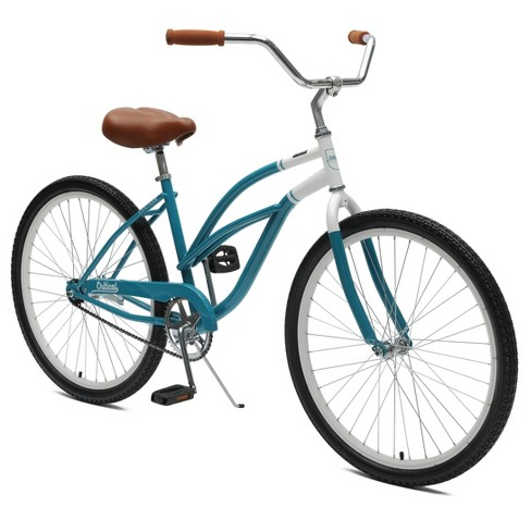 "Critical Cycles Ladies Chatham 1-speed Cruiser Bike- 26"" - Turquoise - image 1 of 2"
