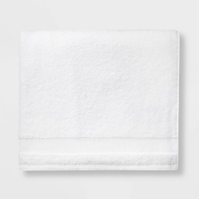 Solid Beach Towel White - Made By Design™