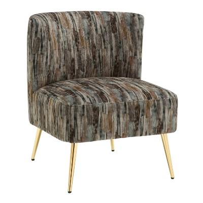 Fran Contemporary Upholstered Slipper Chair - LumiSource