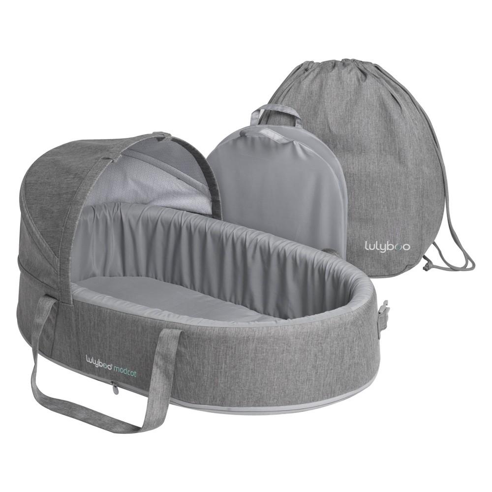 Image of Lulyboo Mod Carrycot Travel Sleeper, Gray