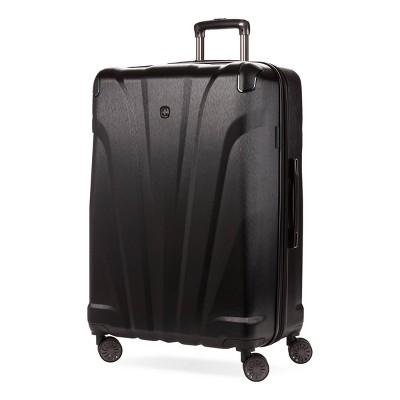 """SWISSGEAR 28"""" Cascade Hardside Suitcase - Black"""