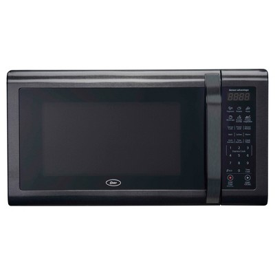 Oster 1.4 Black Stainless Microwave Oven