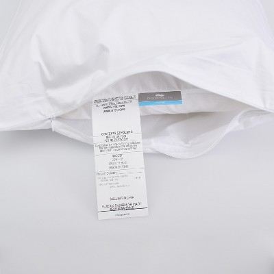 Downlite Soft White Goose Down Hypoallergenic Pillow – Perfect For Stomach Sleepers Standard : Target
