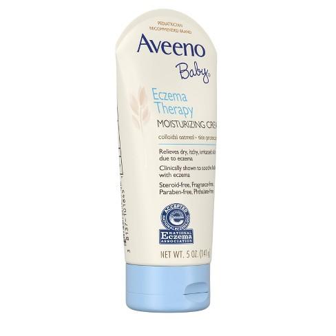 Aveeno Baby Eczema Therapy Moisturizing Cream - 5-oz