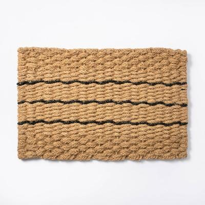 "1'9"" x 2'10"" Braided Doormat - Threshold™ designed with Studio McGee"