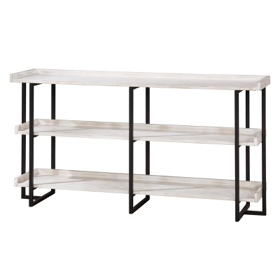 Kamal 3 Layer Shelves Console Table - HOMES: Inside + Out
