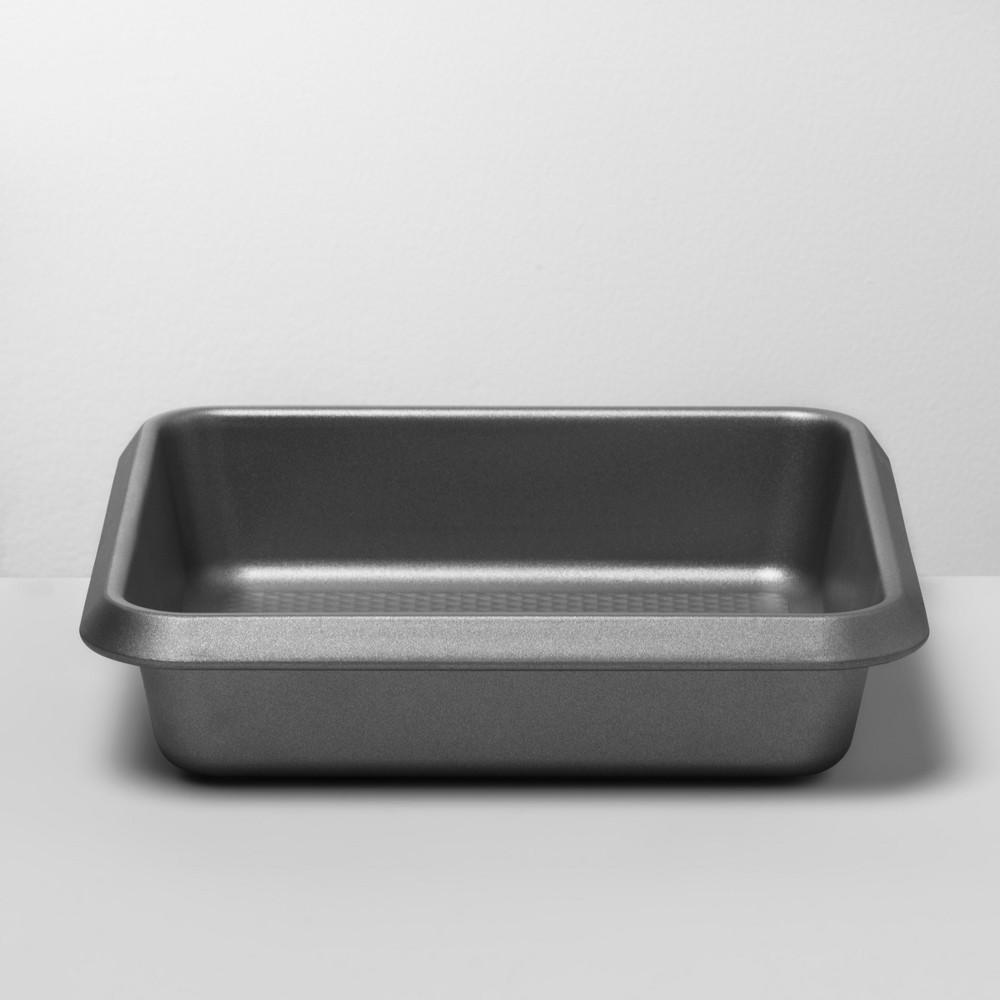 Aluminized Steel Non-Stick Square Cake Pan 9 Silver - Made By Design