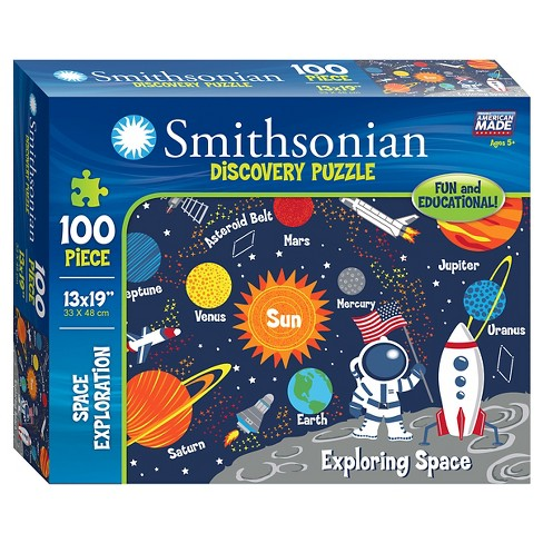 Smithsonian Discovery Puzzle- Space 100Pc - image 1 of 2