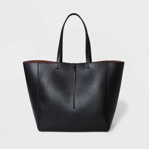 Reversible Tote Handbag - A New Day™ - image 1 of 3