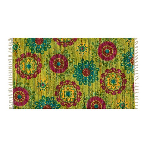 "Loloi Aria Accent Rug - Green (2'3""X3'9"") - image 1 of 1"