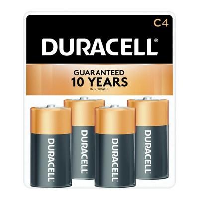 Duracell CopperTop C Alkaline Batteries - 4ct
