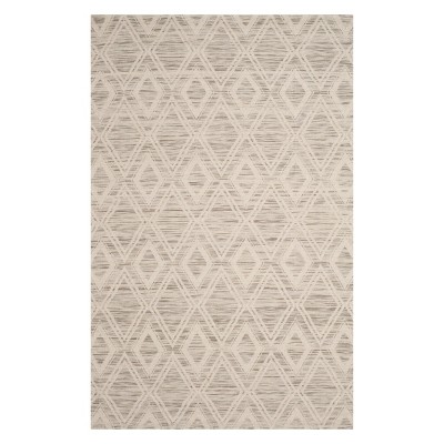 6'X9' Geometric Area Rug Light Brown/Ivory - Safavieh