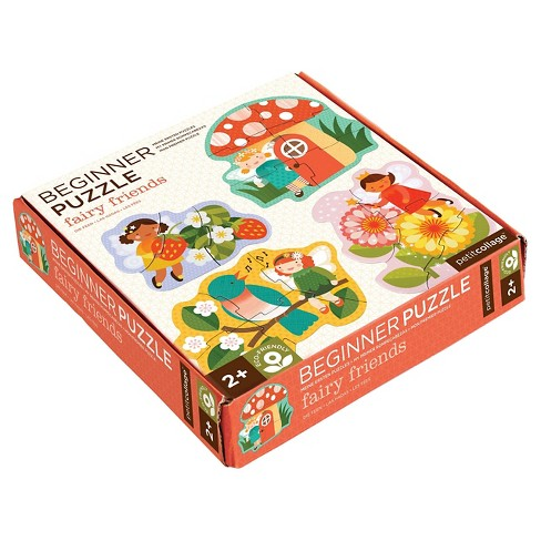 Petit Collage Fairy Friends Beginner Puzzle 18pc - image 1 of 2