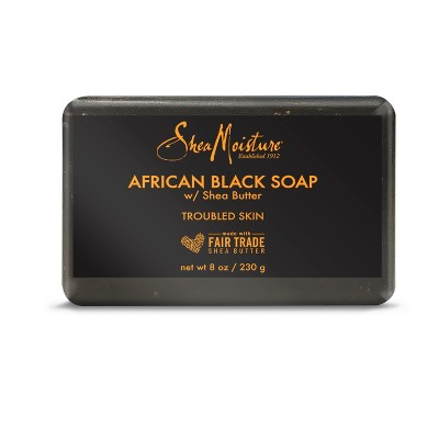 SheaMoisture African Black Bar Soap - 8oz