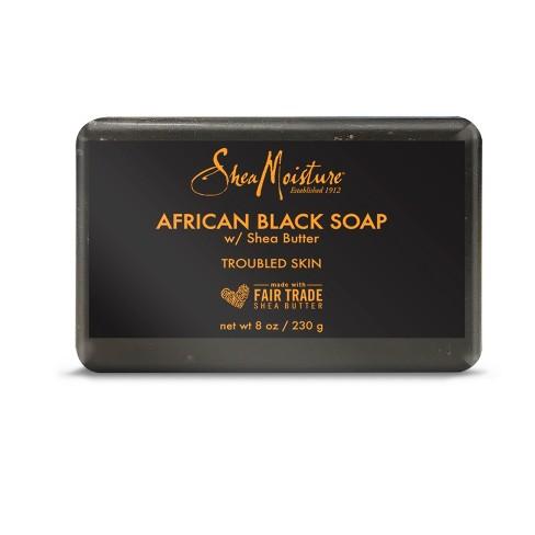 SheaMoisture African Black Bar Soap - 8oz - image 1 of 4
