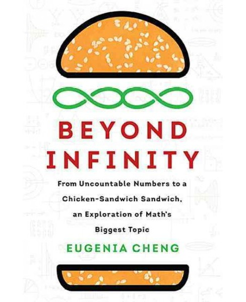 Beyond Infinity : An Expedition to the Outer Limits of Mathematics -  by Eugenia Cheng (Hardcover) - image 1 of 1