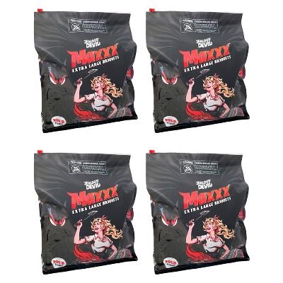 Jealous Devil XL All Natural Hardwood Charcoal Grilling Pillow Briquets, 10 Pound (4 Pack)