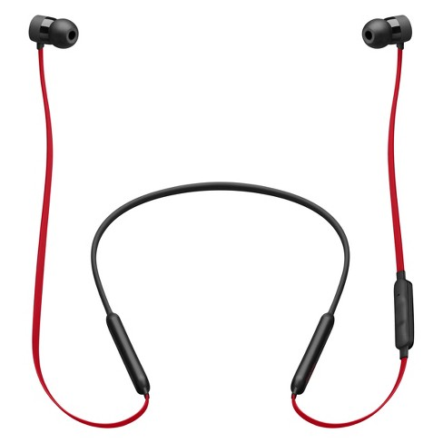 Beats BeatsX Decade Collection Earphones - Defiant Black-Red (MRQA2LL/A) - image 1 of 9