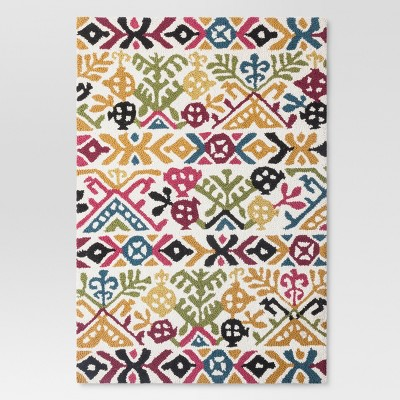 Floral Hooked Accent Rug 2'X3' - Threshold™