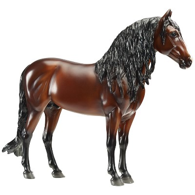 Breyer 1809 Hand-Painted Dominante XXIX Horse Model Collectible Toy 1:9 Scale, Brown and Black