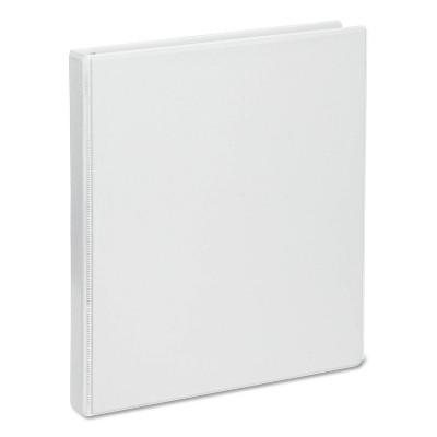 """Universal 100 Sheet .5"""" Ring Binder White"""